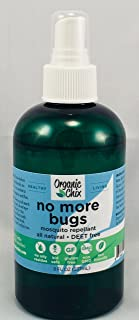 No More Bugs Deet Free Mosquito Repellent, Non-Toxic, 8 Ounce Bottle