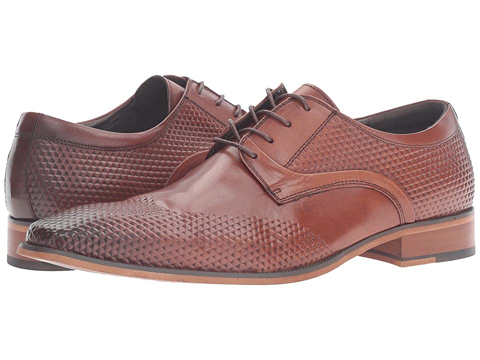 Stacy Adams Kallan Plain Toe Lace (Chestnut) Men