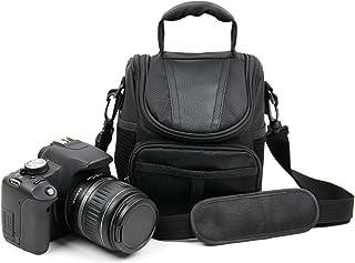 DURAGADGET Bolso para Cámara de acción Nilox F-60 MM93 / F-60 Reloaded/Mini F/F Wi-Fi/UP/WI-FI - con Asa Y Bandolera De Transporte - Compartimentos para la cámara fotográfica Accesorios