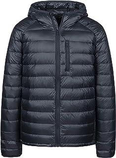 Wantdo Men's Packable Puffer Jacket Insulated Down Coat Lightweight Winter Jacket