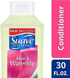 Suave Essentials Conditioner, Aloe & Waterlily, 30 oz