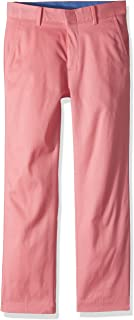 IZOD Boys' Oxford Flat Front Dress Pant