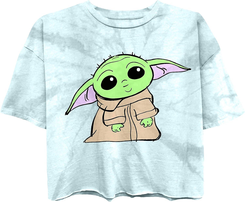Star Wars Ladies Yoda Shirt Baby Yoda Ladies Tie Dye Skimmer T-Shirt