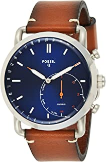 Fossil Hybrid Smartwatch Commuter Luggage Leather - FTW1151