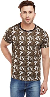 VIMAL JONNEY Camouflage/Military/Army Round Neck Tshirt for Men-T_ARM-P
