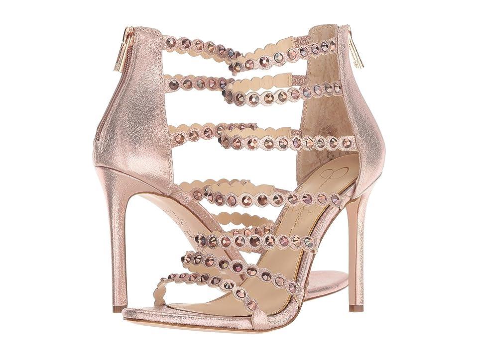 Jessica Simpson Jezalynn (Champagne Shimmer Sand) Women