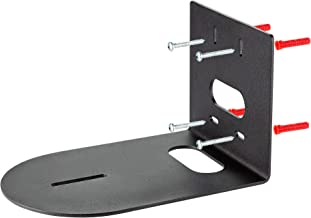 Small Universal Conference Camera Wall Mount fits Lifesize PTZOptics PTZ Camera Huddlecam HuddleCamHD - Cam Arm Bracket Replaces HCM-1-BK HCM-1-WH HCM-1 - Drywall Plastic Wood Masonry - Black