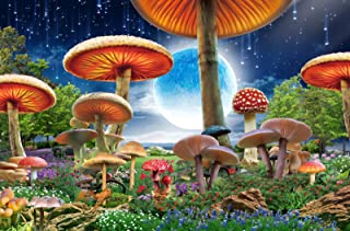 Agirlgle Jigsaw Puzzles 1000 Pieces for Adults for Kids, Mushrooms Jigsaw Puzzles - 1000 Pieces Jigsaw Puzzles,Softclick T...