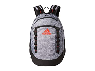 adidas Excel V Backpack (Jersey Onix/Active Red) Backpack Bags