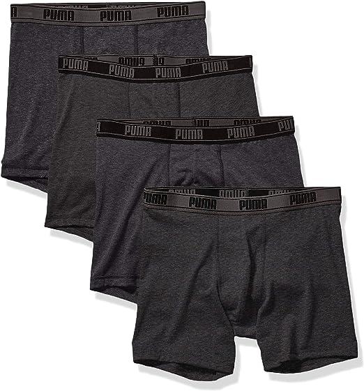 PUMA Men's 4 Pack Tech Boxer Brief at Amazon Men's Clothing store