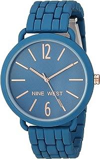 Nine West reloj de pulsera de goma para mujer