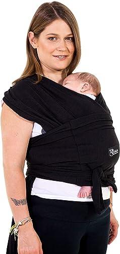 Koala Babycare Une écharpe de portage facile à enfiler, réglable, unisex - Porte-bébé multifonctionnel pour les bébés...