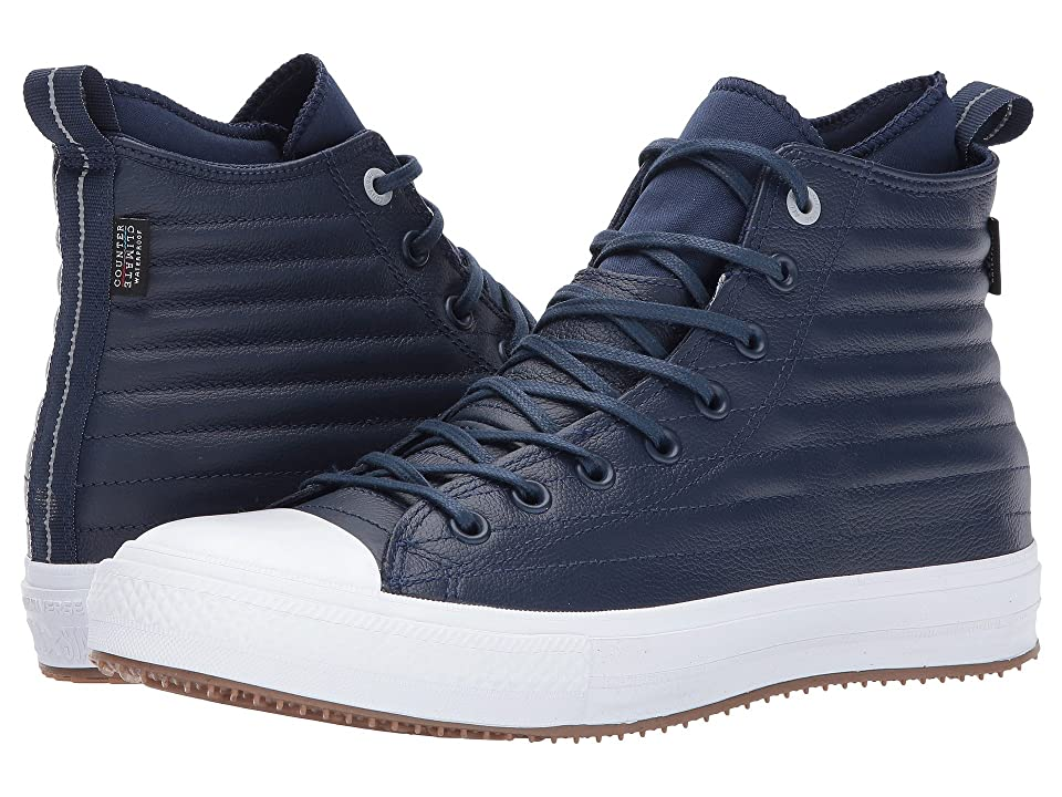 Converse Chuck Taylor All Star WP Boot Hi (Midnight Navy/Wolf Grey) Lace-up Boots