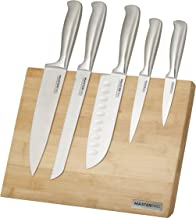MASTERPRO Mitama 6pc Knife Block Set - Japanese Steel