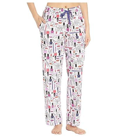 Karen Neuburger Glamour Long Pants (Novelty Lavender Fog) Women