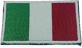Italien italiensk flagga broderad airsoft paintball cosplay lapp