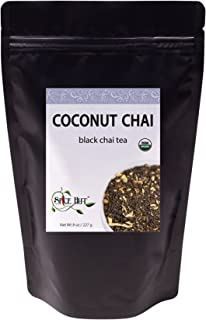 The First Sip of Tea Organic Coconut Chai Loose Leaf Tea, 8 ounce