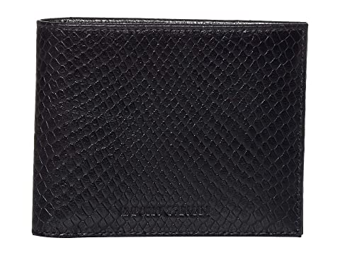 Emporio Armani Textured Bifold Wallet