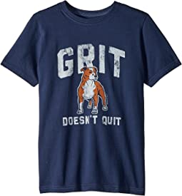 Life is Good Kids Grit Doesn't Quit Crusher Tee (Little Kids/Big Kids)
