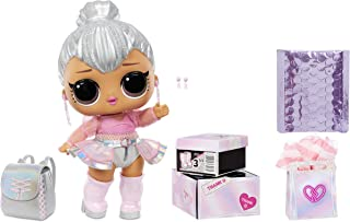 """LOL Surprise Big B.B. (Big Baby) Kitty Queen – 11"""" Large Doll, Unbox Fashions, Shoes, Accessories, Includes Playset Desk, ..."""