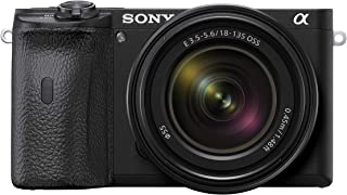 Sony Alpha 6600 Mirrorless APS-C Camera With 18-135 mm Zoom Lens and 0.02-sec. Fast AF, Real-Time Eye AF For Human And Ani...