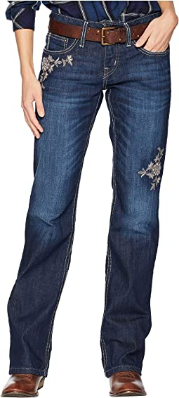 Abby Mid Rise Slim Boot Cut Jeans CB11054071