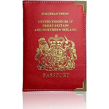 UK Passport Holder Case Cover Tomb Raider ST-T2292