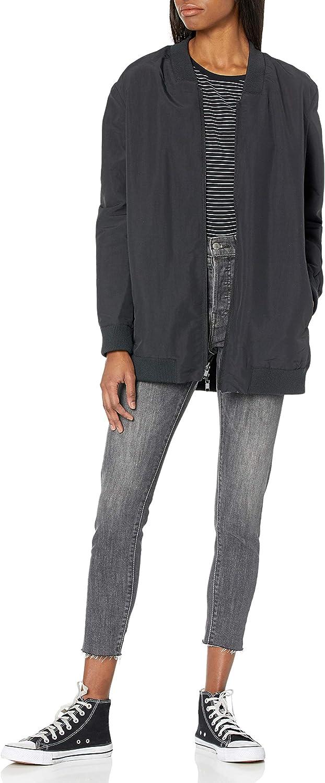 Hurley Women's Reversible Bomber Tunic Jacket