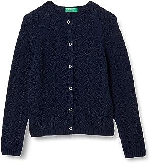 United Colors of Benetton (Z6ERJ) Girls' Cardigan M/L 1398C5437 Sweater