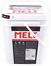 Snow Joe AZ-25-CCP-BKT Melt-2-Go 94% Pure Calcium Chloride Pellet Ice Melter, 25-lb Flip-Top Bucket W/Scooper