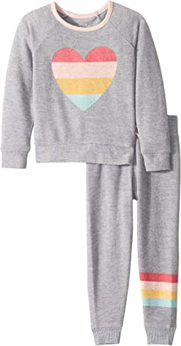 Love PJ Set (Toddler/Little Kids/Big Kids)