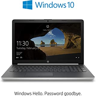 HP 15-da1016ne Laptop | 15.6 inch FHD  | 8th Gen Intel Core i5-8265U | 1TB HDD | 8GB RAM | NVIDIA GeForce MX130-4GB Graphics | DVD-RW | Windows 10 Home | Eng-Ara KB | Silver