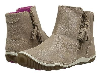 Stride Rite SRT Zoe (Toddler) (Light Gold Leather) Girls Shoes
