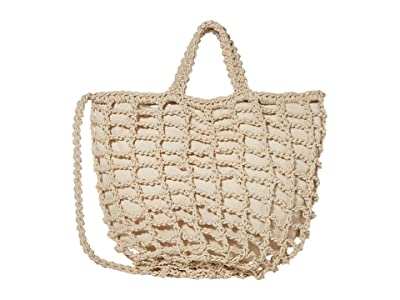 Madewell Crochet Rope Tote (Summer Dune) Handbags