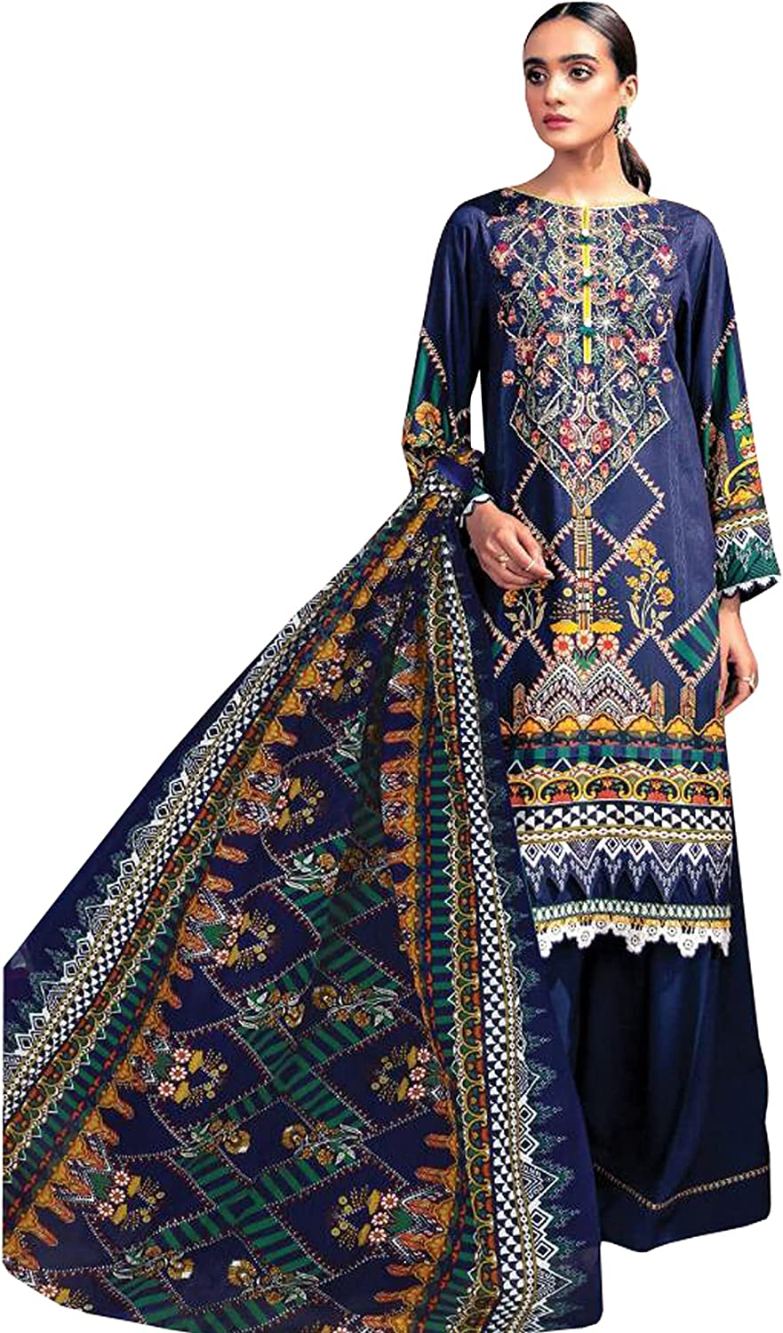 Ready to Wear Indian Designer Stylish Salwar Kameez for Women Trouser Plazzo Suits with Dupatta