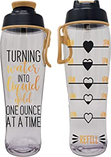 50 Strong Pregnancy Water Bottle - Best Gift for Pregnant Women - Perfect for Care Package or Box for Expecting Moms - Great Gifts for Any Trimester - BPA Free w/Flip Top Cap