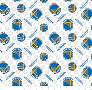 NBA Golden State Warriors Cotton Fabric by the yard