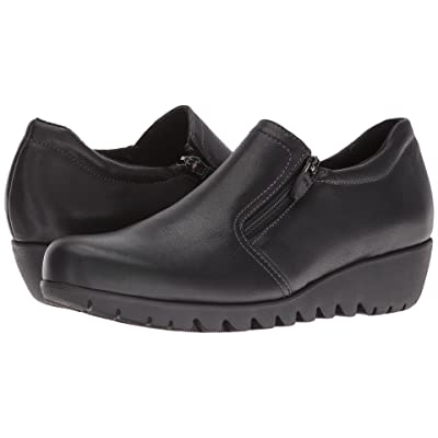 Munro Napoli (Black Leather) Women