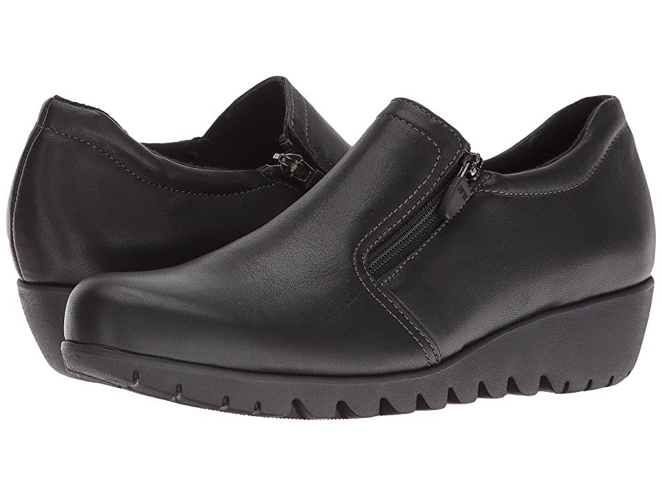 Munro Napoli (Black Leather) Women