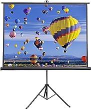VIVO 84 inch Portable Indoor Outdoor Projector Screen, 84 Inch Diagonal Projection HD 4:3..