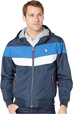 Chevron Windbreaker