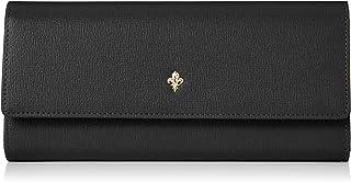 [パトリックコックス] 長財布 《インテリア》 牛革型押し シンプル ワンポイント金具 キングス柄プリント裏生地 PXLWJGT1