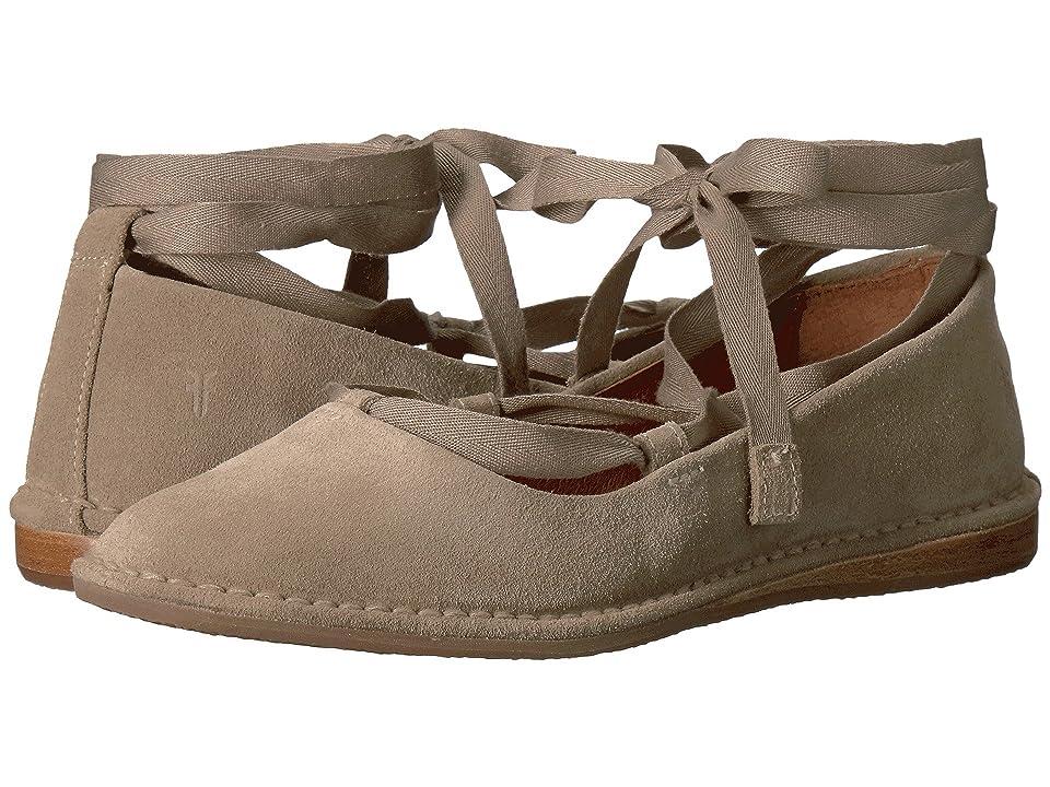 Frye Helena Ankle Tie (Ash Soft Oiled Suede) Women