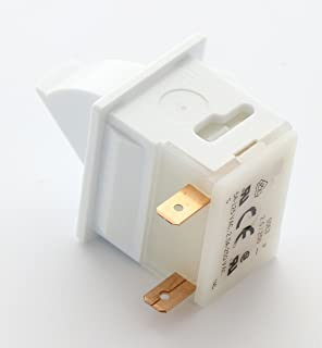 1 X Refrigerator Door Light Switch Replacement for Whirlpool, Maytag, Admiral, Amana, Crosley, Jenn-Air, Kenmore, KitchenAid, Magic Chef by ERP