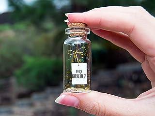 Eres Increíble. You are amazing. Eres Especial. Mensaje en una botella. Miniaturas. Regalo personalizado. Divertida postal