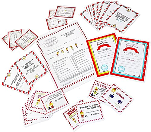 Christmas Elf Notes from your Elf - Bonus Santa Letter and Checklist by SGD