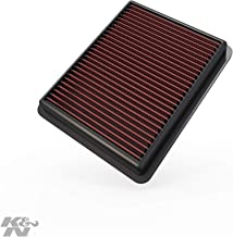 K&N engine air filter, washable and reusable:  2012-2019 Mazda L4 (CX-5, CX-9, 6, 2, Atenza, Axela 33-3024