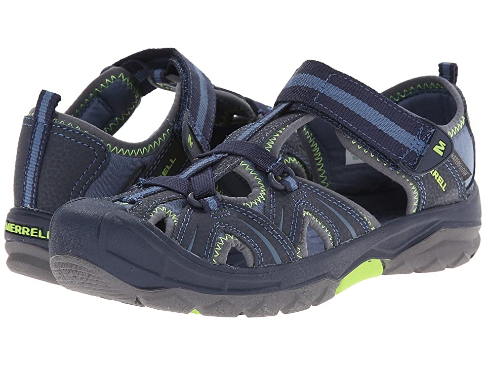 Merrell Kids Hydro (Big Kid) (Navy/Green) Boys Shoes