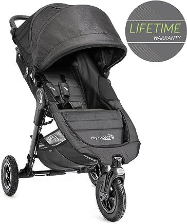 Baby Jogger City Mini GT 单人婴儿推车 Charcoal Denim - Grey