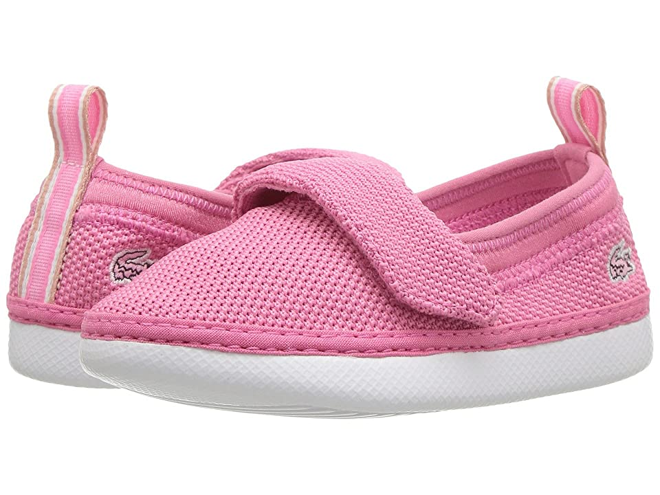 Lacoste Kids L.ydro 118 1 (Toddler/Little Kid) (Pink/White) Girl